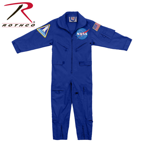 Rothco Kids NASA Flight Coveralls With Official NASA Patch