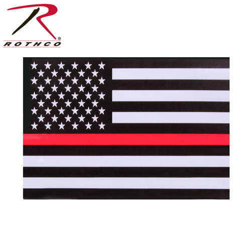 Decacl - Rothco Thin Red Line Flag