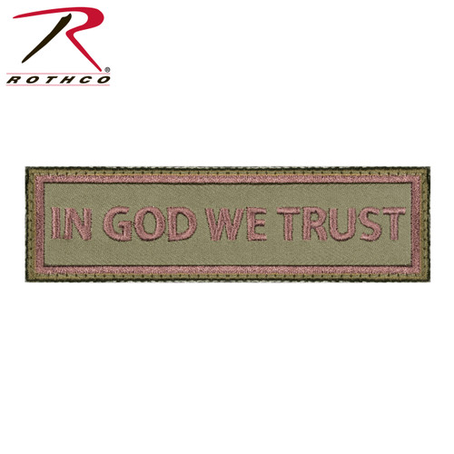 Rothco In God We Trust  - Morale Patch