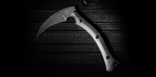 Bastinelli Creations Reaper Tac with Leather Sheath