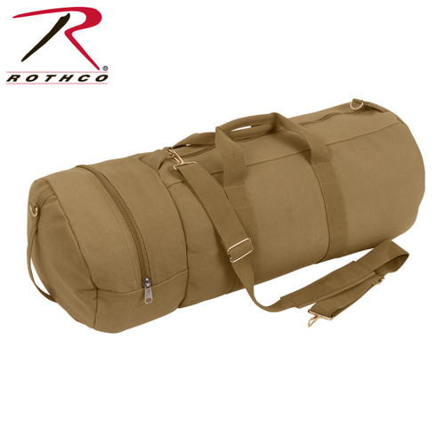 Rothco Canvas Double-Ender Sports Bag - Coyote Brown