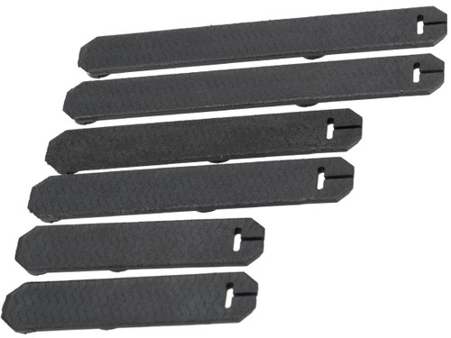 AIM Sports 6 Piece Keymod Rail Covers