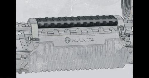 "MANTA 5"" Tac-Wrap Top Rail Guard - Black"