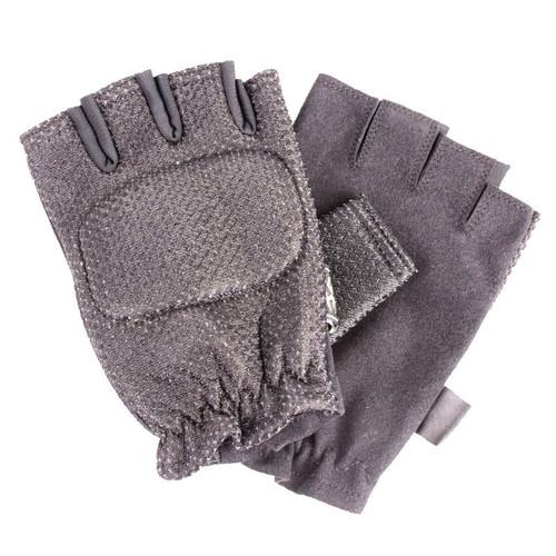 Empire Fingerless Gloves Soft - Black