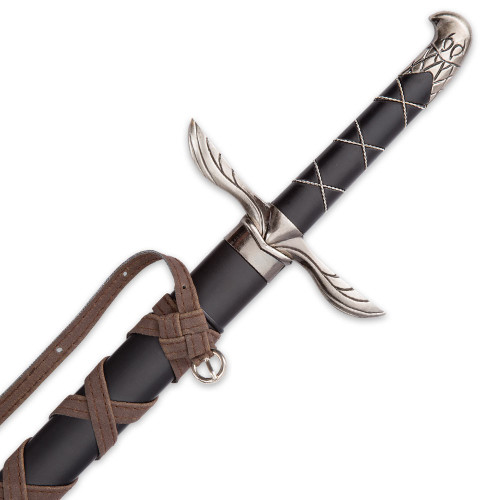 Assassin's Talon - Medieval Display Sword - Eagle Pommel - Eagle Wing Guard