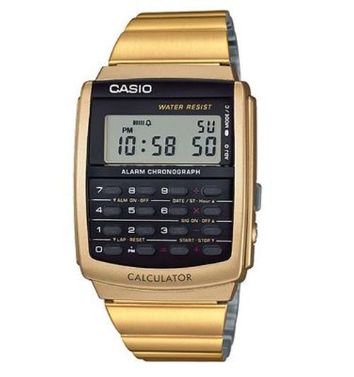 Casio Retro CA506G-9AVT Databank