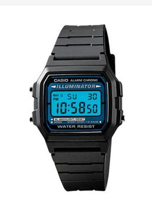 Casio Retro F105W Digital Watch with Backlight