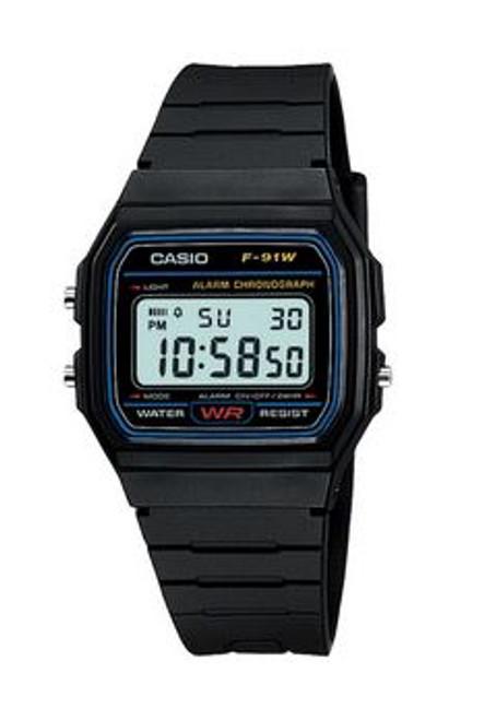Casio Retro F91W Digital Watch