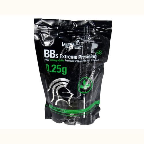 Lancer Tactical 0.25g Bio BB / 1KG Aluminum Foil