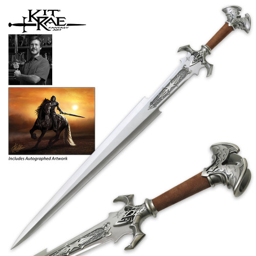 Amonthul Sword of Avonthia - Autographed