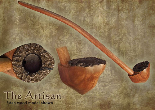 MacQueen Pipes 'The Artisan' - Ash Wood