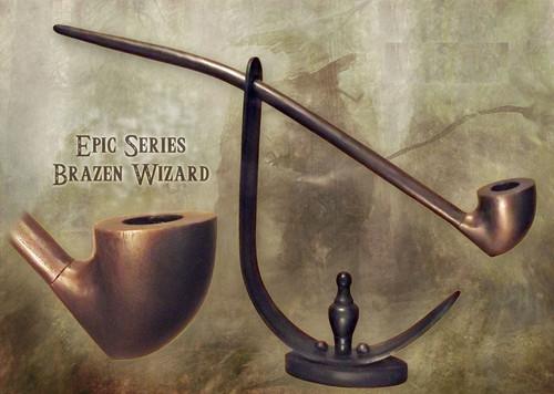 MacQueen Pipes 'The Brazen Wizard' - Cherry Wood