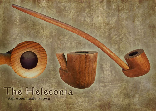 MacQueen Pipes 'The Heleconia' - Ash Wood
