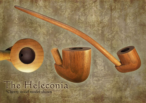 MacQueen Pipes 'The Heleconia' - Cherry Wood