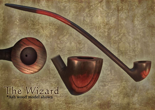 MacQueen Pipes 'The Wizard' - Ash Wood