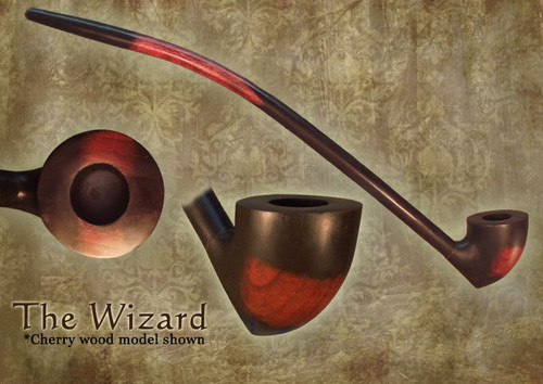 MacQueen Pipes 'The Wizard' - Cherry Wood