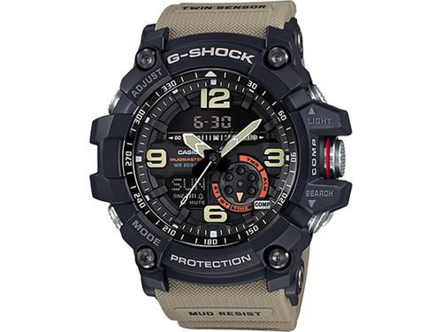 Casio G-Shock GG-1000-1A5CR Mudmaster Watch (Color: Military Beige)