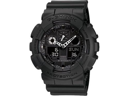 Casio G-Shock Men's GA100-1A1 Analog / Digital Watch (Color: Black)