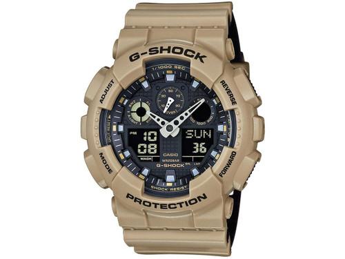 Casio G-Shock Trending Series GA100L-8A Digital Watch - Sand Beige