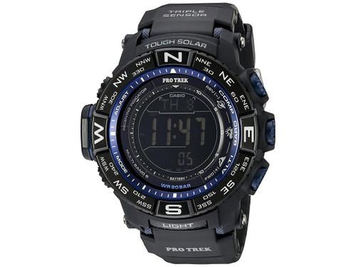 Casio Men's PRW-3500Y-1CR Pro-TrekTriple-Sensor Stainless Steel Watch