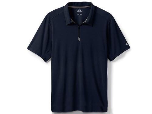 Oakley 1/4 Zip Polo - Navy Blue
