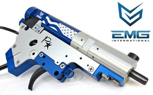 PolarStar Airsoft PR-15 V2 Gen3 Fusion Engine Electro-Pneumatic Gearbox Kit (Model: EMG Edition Black Nozzle)