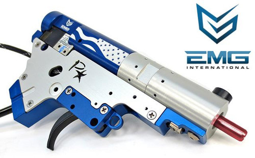 PolarStar Airsoft PR-15 V2 Gen3 Fusion Engine Electro-Pneumatic Gearbox Kit (Model: EMG Edition Red Nozzle)