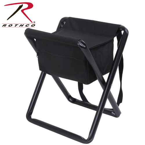 Rothco Deluxe Stool w/Pouch - Black