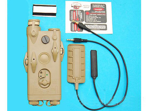 G&P PEQ II Laser Designator + CREE LED Illuminator Light System (Color: Sand)