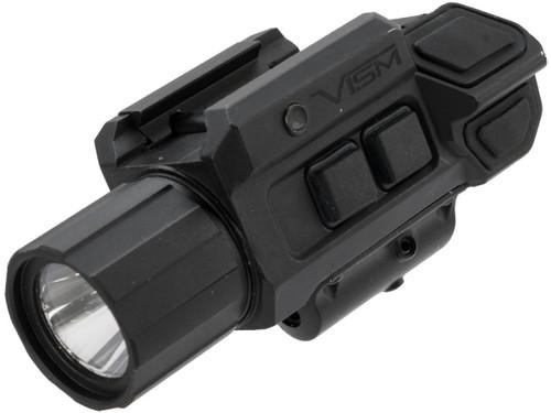 VISM by Ncstar GEN3 Pistol Flashlight w/Strobe & Red Laser