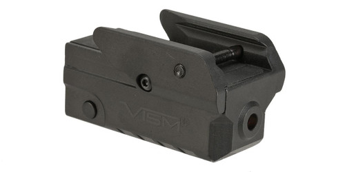 VISM Compact Green Laser for Pistols with Strobe Function