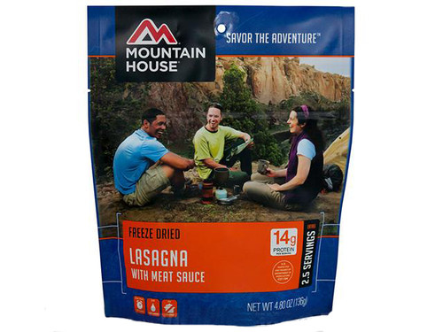 Mountain House Freeze Dried Entree - Lasagna with Meat Sauce