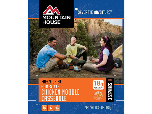 Mountain House Freeze Dried Entree- Chicken Noodle Casserole
