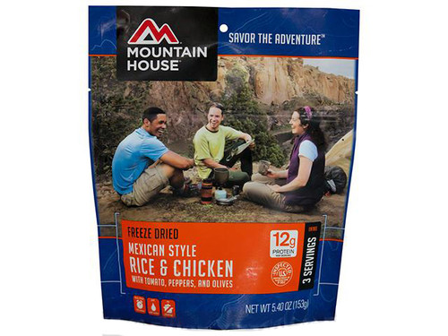 Mountain House Freeze Dried Entree- Mexican Style Rice and Chicken