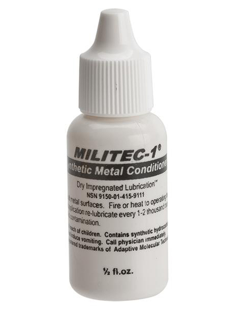 Militec-1 Dry Impregnated Lubrication Oil - 1/2 oz Bottle