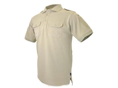 Hazard 4 Quickdry LEO Polo Shirt - Tan