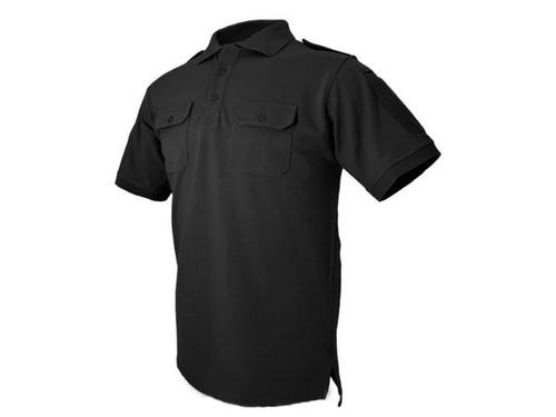 Hazard 4 Quickdry LEO Polo Shirt - Black