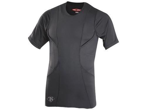 Tru-Spec 24-7 Series Short Sleeve Concealed Holster Shirt - Black