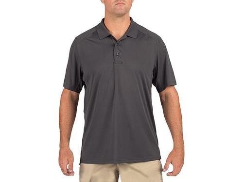 5.11 Tactical Helios Short Sleeve Polo - Charcoal