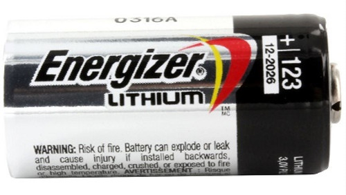 Energizer CR123A Batteries - 60 Pack