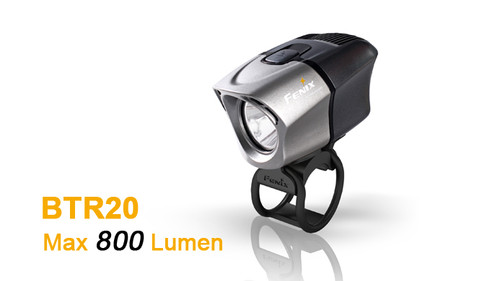 Fenix BTR20 Rechargeable Bike Light (800 Lumens)