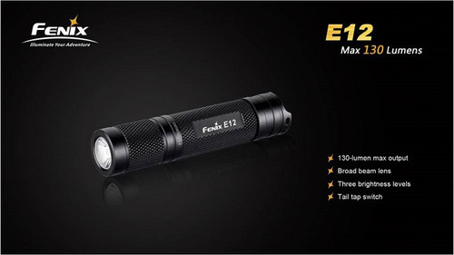 Fenix E12 - 130 Lumens