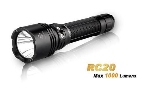 Fenix RC20 Rechargeable Flashlight - 1000 Lumens