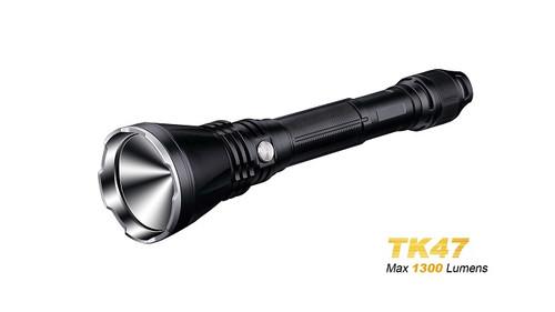 Fenix TK47 Long-Range Flashlight - 1300 Lumens