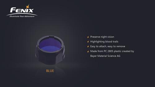 Fenix AOF-S+ Blue Filter - PD35/PD12/UC40