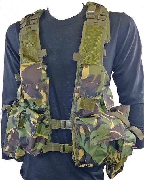 Military Style Camo Tac Vest - British DPM