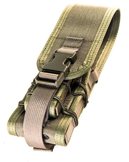 High Speed Gear 18DDC0OD Double Decker w/Cover MOLLE - Olive