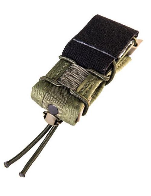 High Speed Gear 19PT00OD Pistol Taco LT Belt Mount-Olive Drab