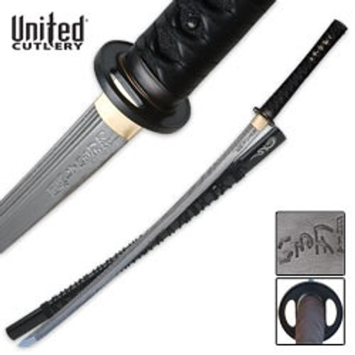 Shikoto Hand Forged Katana Damascus Sword