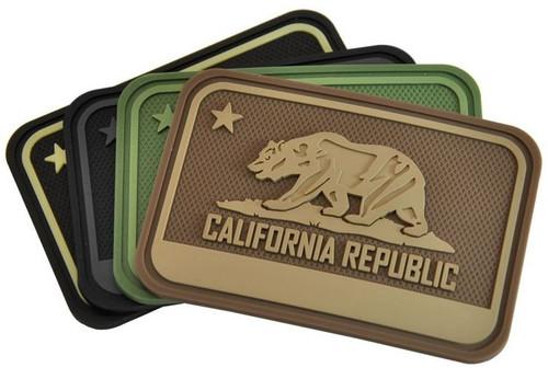 Hazard 4 Patch California Bear Flag